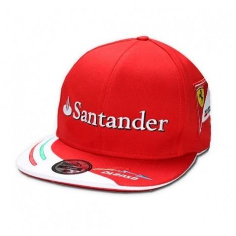 ba5db7602b563 Bone Aba Reta Scuderia Ferrari - Alonso 2014 - Fredy Kart ...