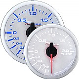 Pressão de Turbo 52mm (Elétrico) Depo Racing White Stepper Motor Swiss Movimen - Manômetro